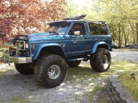 My 1985 Bronco II called Mud Rat II