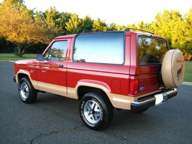 1987 Ford Bronco II Eddie Bauer