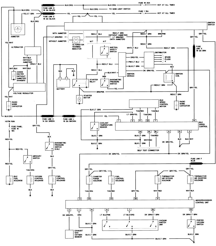1984 ford bronco ii engine wiring diagram example electrical 1985 bronco ii ignition diagram bronco ii wiring diagrams bronco ii corral rh broncoiicorral com 88 bronco 2 wiring diagrams 88 bronco 2 wiring diagrams
