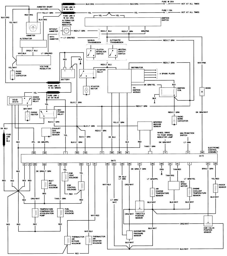 Bronco II Wiring Diagrams - Bronco CorralBronco Corral