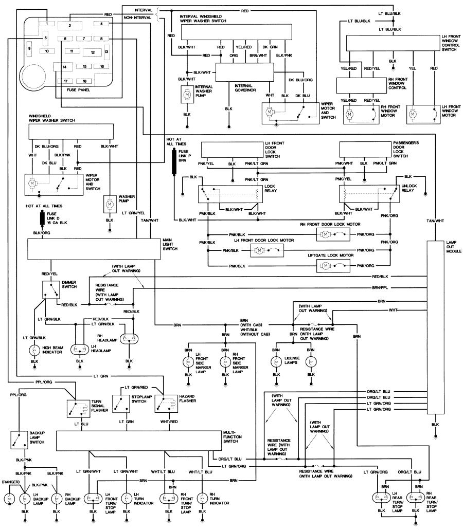 bronco fuse diagram
