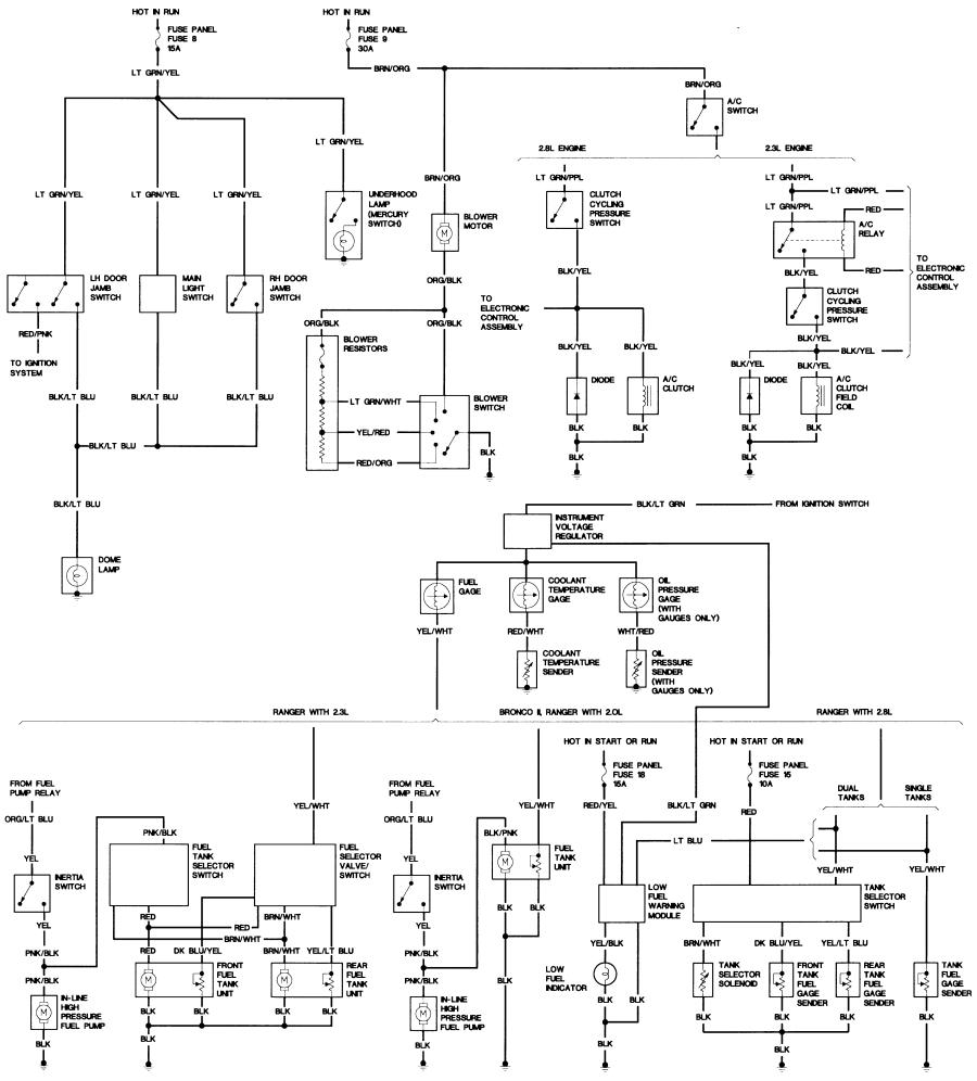 bronco ii wiring diagram wiring diagrams bronco ii wiring diagrams bronco ii corral