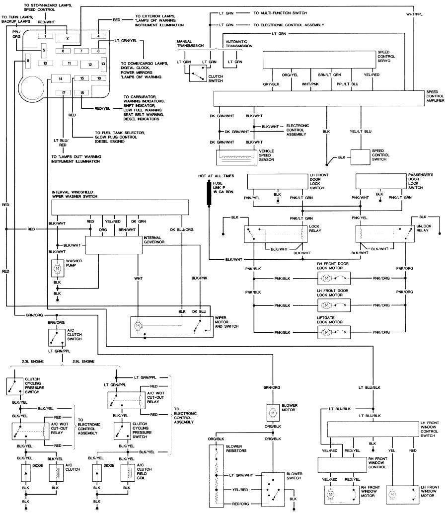 1987 Bronco 2 Wiring Diagram on bronco ii wiring diagrams corral 1 jpg