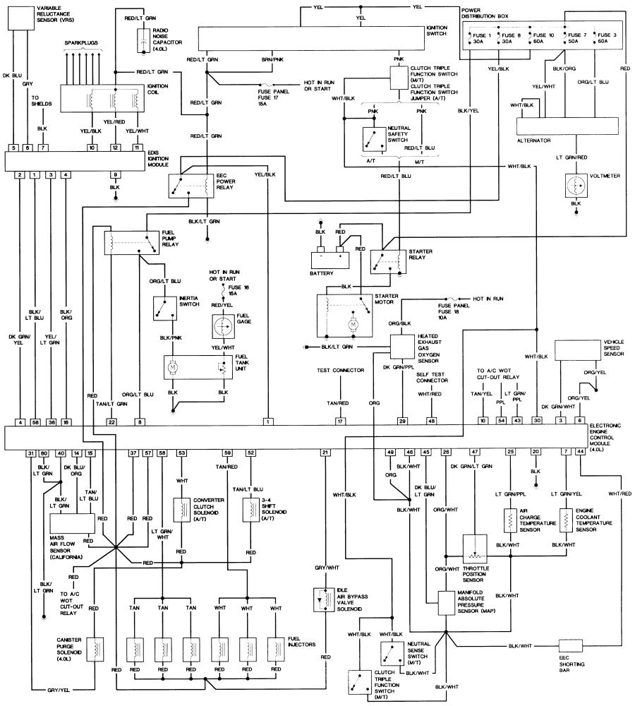 1993 Ford Ranger Wiring Diagrams