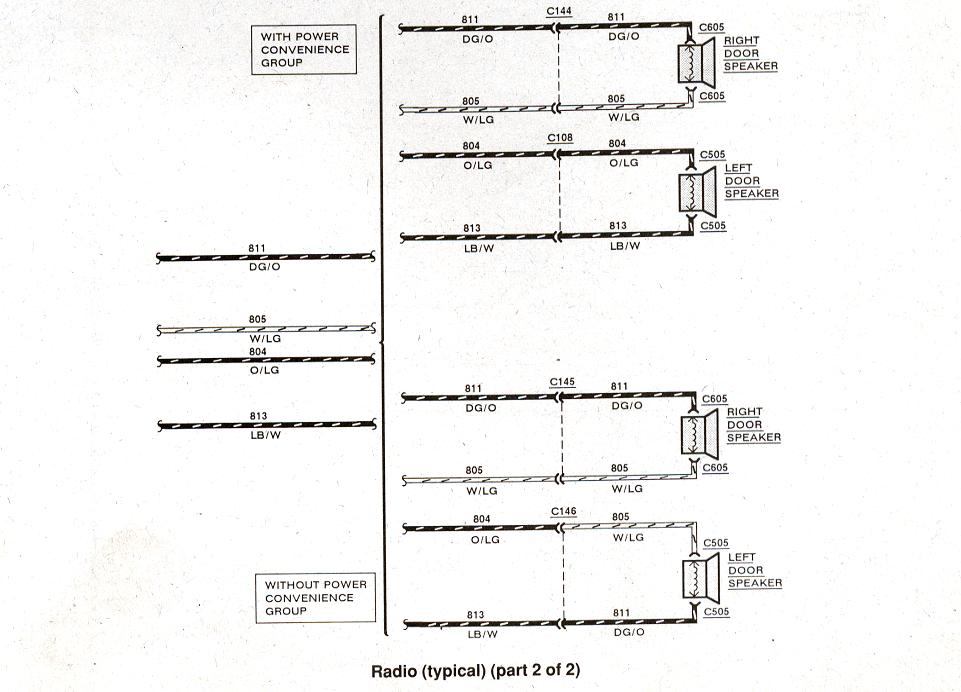 Ford Bronco Radio Wiring Diagram