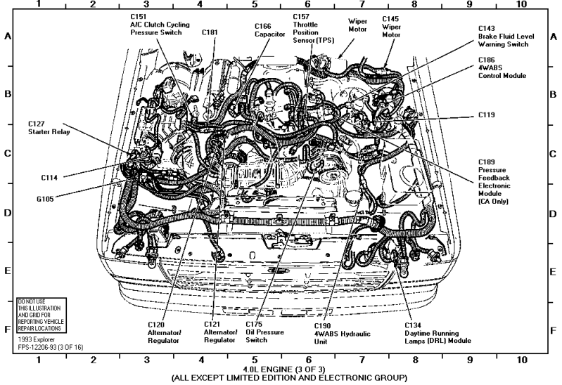 Ford 302 Distributor Wiring Diagram 1988 Ford 302 F150 EFI