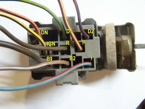 ford bronco ii headlight switch wiring & testing - bronco corral  bronco corral