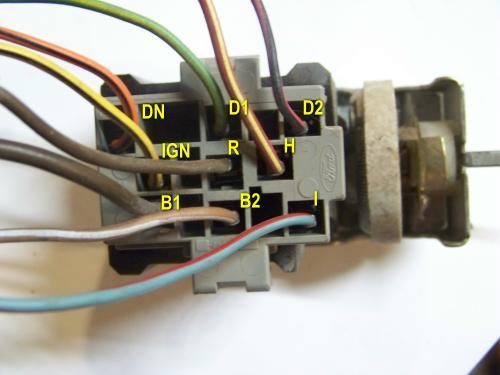 Ford Bronco II Headlight Switch Wiring & Testing - Bronco Corral | Ford F350 Headlight Switch Wiring |  | Bronco Corral