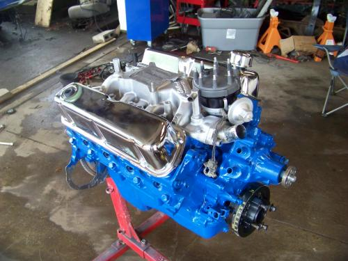 The Bronco II Project - The Engine