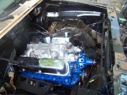 bronco ii project  engine