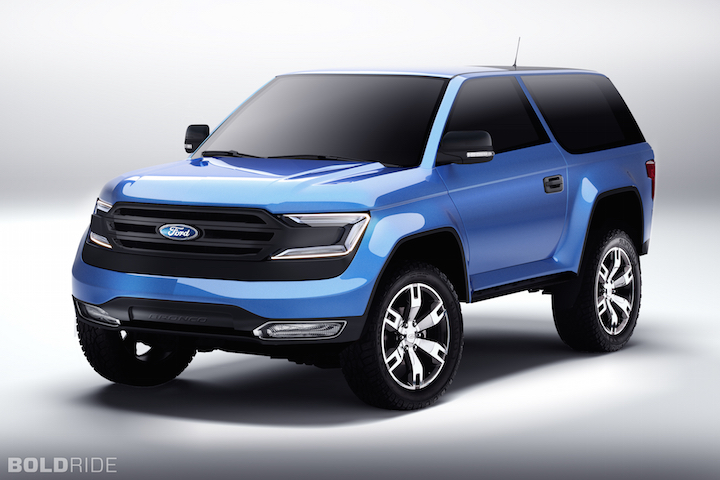 The Upcoming 2020 Ford Bronco : Bronco II Corral