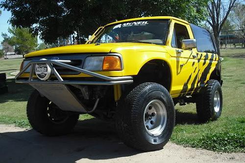 McNeil Racing Ford Bronco II Prerunner