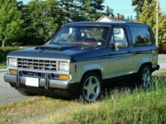 Ford Bronco II GT Muscle