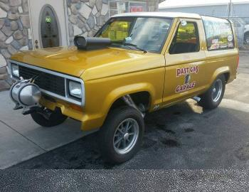 This Bronco II Is A Real Gas