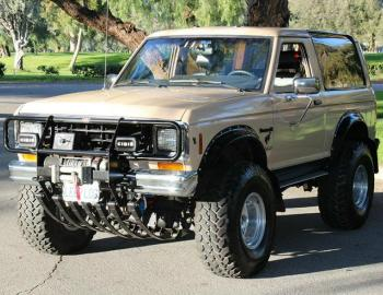 A Ford Bronco II For The Doomsday Prepper