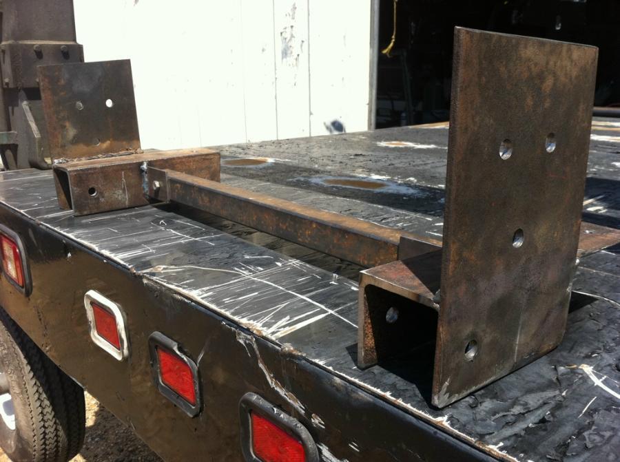 Building a custom radius arm mount / transmission mount