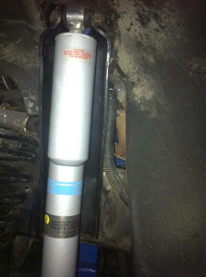 Ford F-250 shock mount