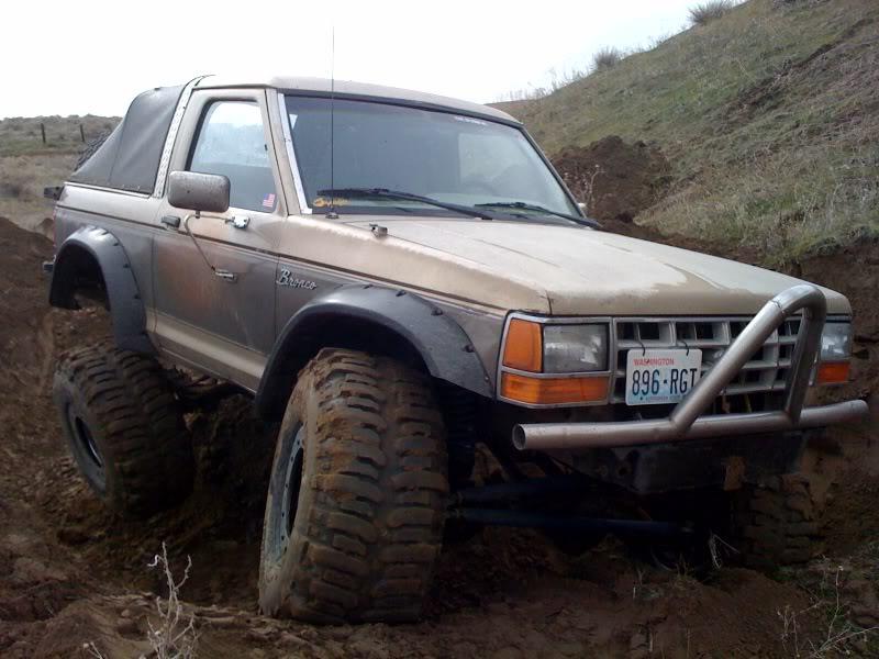 Chop Top 1989 Bronco Ii On 39 S Bronco Ii Corral