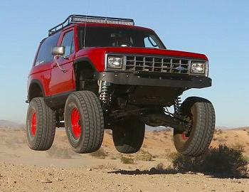 1986 Ford Bronco II Bomber