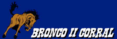 Bronco II Corral Forums