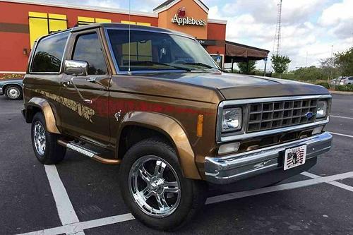 1985 Bronze Bronco II