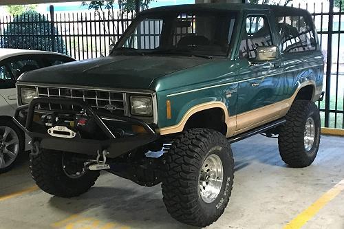 1987 Bobby Bronco II 4X4
