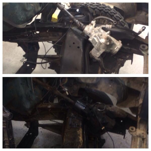 AGR gearbox and borgeson shaft swapped