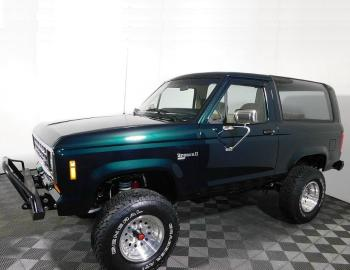 1988 Ford Bronco II 4×4 – Green With Envy