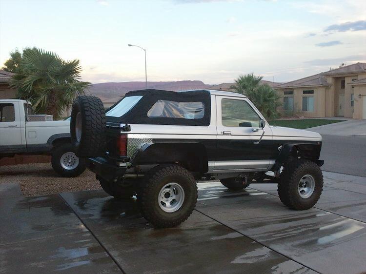 4xranger 1984 Ford Bronco Ii Bronco Ii Corral