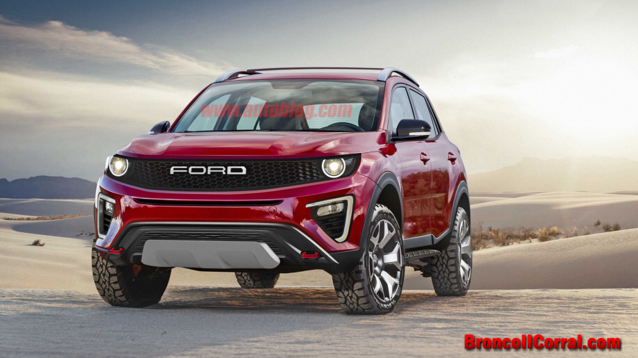 New Ford Explorer >> 2020 Ford Bronco Renderings : Bronco II Corral