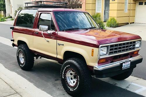 1988 Ford Bronco II V8 4×4