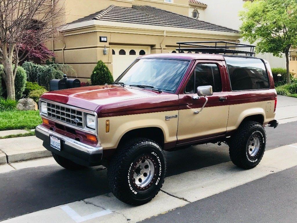 1988 Ford Bronco Ii V8 4 215 4 Bronco Ii Corral