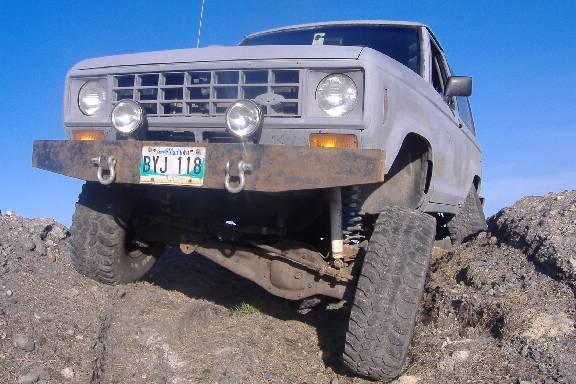 Round Headlight Conversion Bronco Ii Corral
