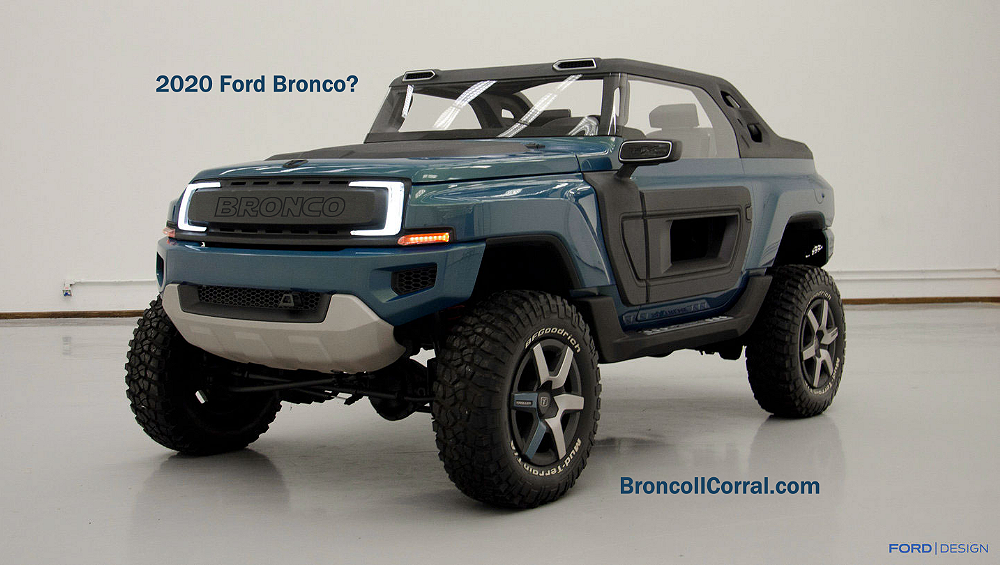fords troller   bronco bronco ii corral
