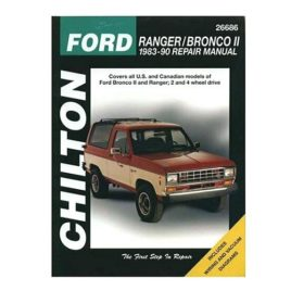 Chilton Ford Bronco II Repair Manual
