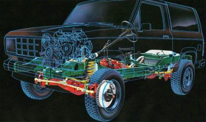 [DHAV_9290]  Ford Bronco II Builders Guide - Bronco Corral | 1984 Ford Bronco 2 Engine Diagram |  | Bronco Corral