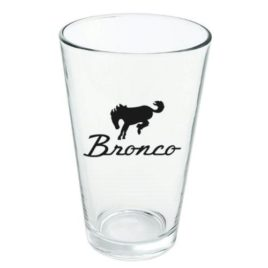 Ford Bronco Logo Novelty 16oz Pint Drinking Glass