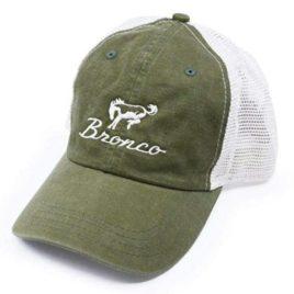 Ford Bronco Olive Baseball Cap