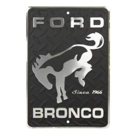 Ford Bronco Since 1966 8×12 inch Metal Sign