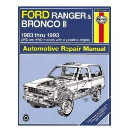 Haynes Ford Bronco II Repair Manual