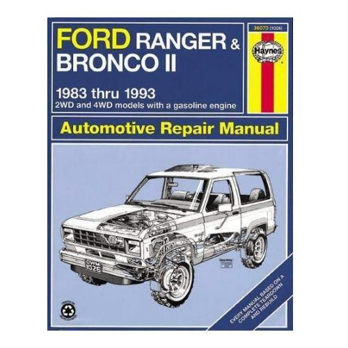 Haynes Ford Bronco II Repair Manual - Bronco Corral