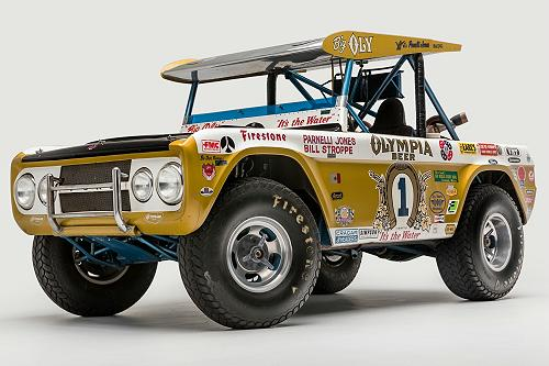 Parnelli Jones' Legendary 'Big Oly' 1970 Ford Bronco