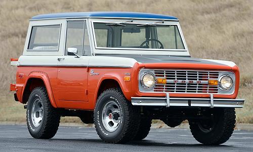 Bill Stroppe 1971-1975 Baja Bronco's