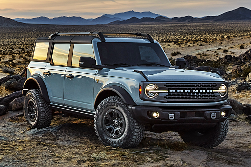 All-New 2021 Ford Bronco