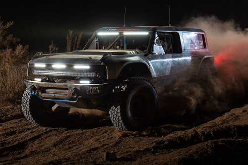 Ford Bronco R Finishes The 2020 Baja 1000