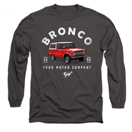 Ford Bronco Illustrated Unisex Adult Long-Sleeve T Shirt