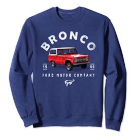 Ford Bronco '66 Illustrated Sweatshirt