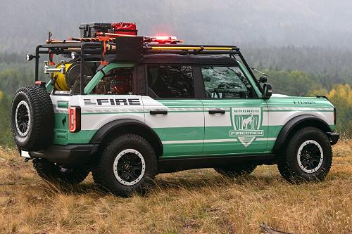 Ford Bronco & Filson Wildland Fire Rig Concept
