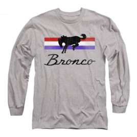 Ford Bronco Bronco Stripes Unisex Adult Long-Sleeve T Shirt