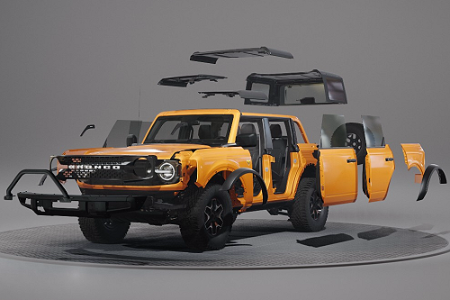 2021 Ford Bronco Built For Customization